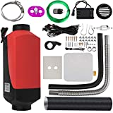 Happybuy Diesel Air Heater for RV Bus Motorhome Boat Car (Diesel Air Heater with LCD Thermostat Monitor & Remote Control)