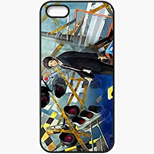 Personalized iPhone 5 5S Cell phone Case/Cover Skin Persona 4 Black