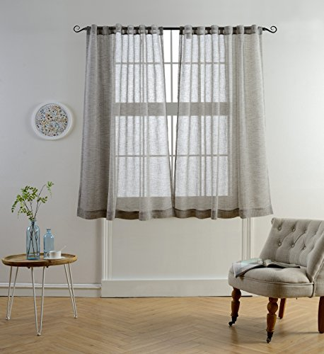 mysky-home-faux-linen-back-tab-and-rod-pocket-white-melange-window-and-door-sheer-curtains-for-livin