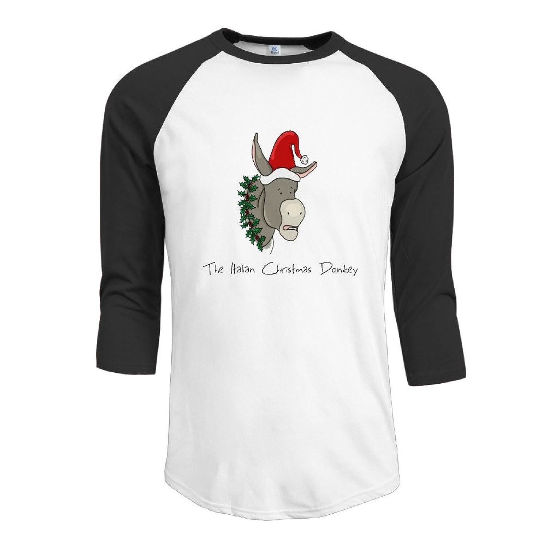 Amazon.com: Alternative Men\'s The Italian Christmas Donkey Round ...