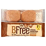 BFree Wheat & Gluten Free High Fibre Brown Seeded Rolls 4 x 75g
