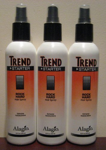 Alagio Trend Starter Rock Hard Hair Spray 8.5 Ounces (Trend Starter)