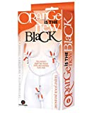 Icon Brands Orange is The New Black Triple Your Pleasure Clamps and Chain