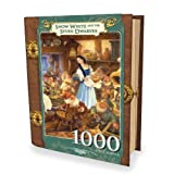 Masterpieces Snow White and The Seven Dwarfs Book Box Jigsaw Puzzle (1000-Piece), Art by Scott Gustafson