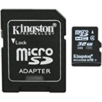 Professional Kingston MicroSDHC 32GB (32 Gigabyte) Card for Samsung Intensity II Phone Phone with custom formatting and Standard SD Adapter. (SDHC Class 4 Certified)