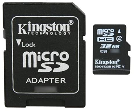 Professional Kingston MicroSDHC 32GB (32 Gigabyte) Card for Sony Ericsson Xperia V Phone with custom formatting and Standard SD Adapter. (SDHC Class 4 Certified)