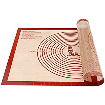 Amazon Com Extra Large Silicone Pastry Mat With