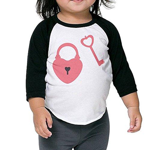 Susuha Love Lock A Child's Sleeve Shoulder Shirt 4 Toddler