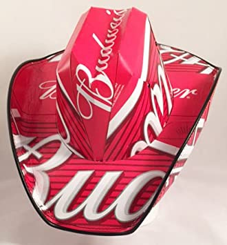 a4453f943c1 Amazon.com  Beer Box Cowboy Hat Made From Recycled Budweiser Beer ...