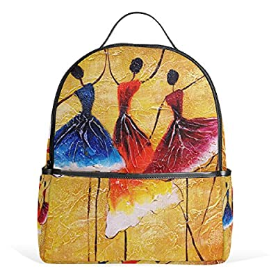 c2ee2230edf6 JSTEL Spanish Dance Flower School Backpack 2th 3th 4th Grade for Boys Teen  Girls Kids 70