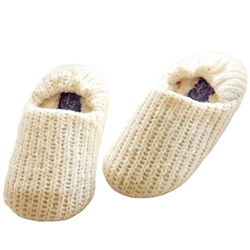 Unie Blanc Style Emballage Confortable Avec Paillettes Maison Jds Agréable Chaussures Fortuning's Des Pantoufles Couleur Filles Femmes Simple Tricoter Szxqzw6IY0