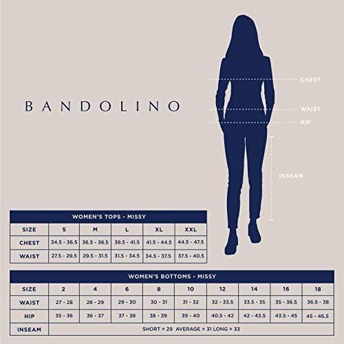 Bandolino Women's Misses Bella All Day Comfort Pull on Knit Denim Legging