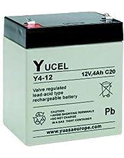Yucel - BATERÍA DE PLOMO 12V 4AH Y4-12 YUCEL - Y4-12