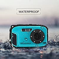 2.7 Inch LCD Cameras 16MP Digital Camera Underwater 10m Waterproof Camera+ 8x Zoom by GordVE