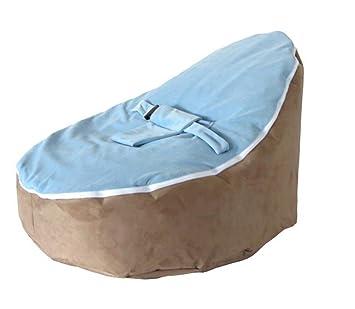 Amazon.com: LCY bebé Puf café blue-unfilled: Baby