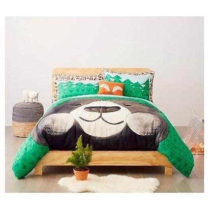 Amazon Com Pillowfort Best Bears Forever 3 Pcs Comforter Set Full