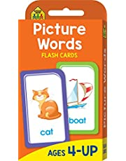 School Zone Picture Words Flash Cards (new cover)