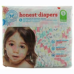 Honest Baby Diapers - Tribal - Size 5 - 25 ct