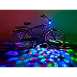 Amazon Price History for:Brightz, Ltd. Cruzin Brightz Red Green Blue, Color Changing LED Light Bicycle Accessory