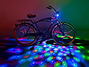 Brightz, Ltd. Cruzin Brightz Red Green Blue, Color Changing LED Light Bicycle Accessory