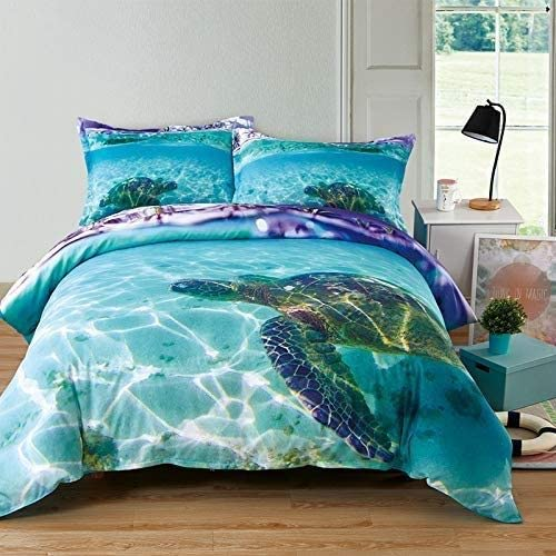 Twin Bedding Set Sailboat Nautical Beach Boy Toddler Kids Comforter Gift New