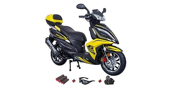 Patinete de gasolina de 150 cc, scooter de 4 tiempos, 150 ...