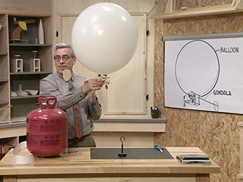 Helium Tank For Rent (Make a Radio-Controlled Blimp)