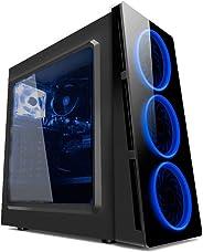 PC G-FIRE AMD A8 9600 4GB 1TB Radeon R7 1GB integrada Computador Gamer HTG-234