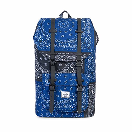 Herschel Supply Co. Little America Backpack, Navy/Black Bandana/Black Rubber