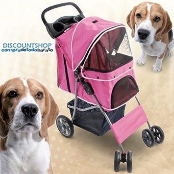 Compradetodobarato - Carrito para perros. Rosa cachorros. Viejos. Enfermos: Amazon.es: Bebé