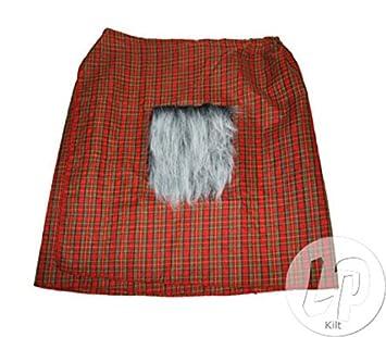 Funny Fashion Tamaño escocés kilt adulto para disfraz de falda ...