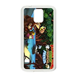 Samsung Galaxy S5 Cell Phone Case White_Donkey Kong Country Tropical Freeze_002 Mioll