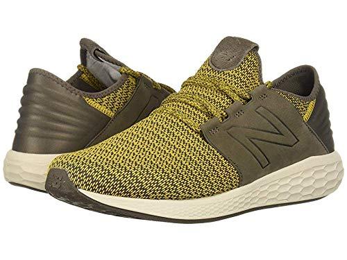 New Balance Men's Cruz V2 Fresh Foam Running Shoe, sunflower/light chalk board/birch, 9 2E US by New Balance