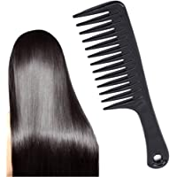 Timetries Wide Tooth Comb Detangling Hair Brush Paddle Hair Comb Care Handgrip Comb Best Styling Comb for Long Hair…