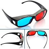 Nvidia 3D Anaglyph Vision Glasses Red Blue Cyan for Films