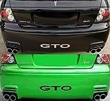 2004-06 PONTIAC GTO SAP Rear Bumper Valence Vinyl