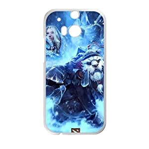 HTC One M8 phone case White dota 2 DDRK5374488