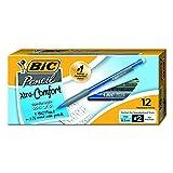 BIC Matic Grip Mechanical Pencils, Black, 0.5mm, Dozen Box