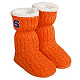NCAA SYRACUSE ORANGE WOMEN'S XL 11-12 SLIPPERS BOOTS