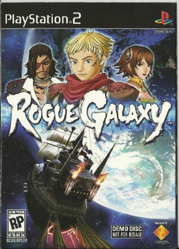 ROGUE GALAXY DEMO DISK SEALED
