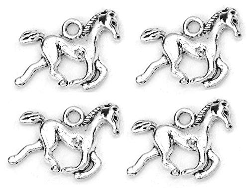 Horse Charm Jewelry - Horse Charm Pendant for Jewelry Making DIY (50Pcs)