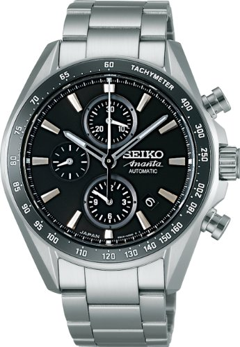 SEIKO BRIGHTZ ANANTA Reinforced waterproof (10 atm) automatic winding with manual winding Sapphire glass super clear coating Men's Watch SAEH015 [Japan Import]
