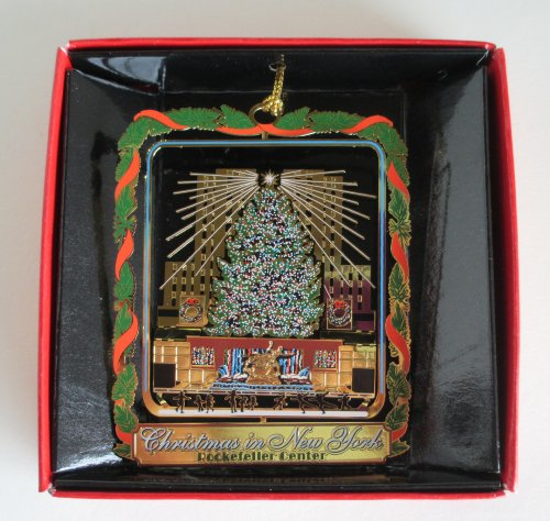 Rockefeller Center Christmas Tree New York City ORNAMENT Souvenir Gift -