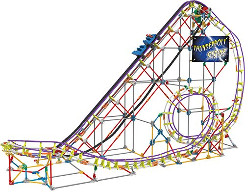 Knex Thunderbolt Strike Roller Coaster Set