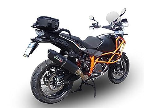 Gpr KTM.55.1.Cordel Terminal homologado con racor para KTM Adventure Lc 8 1290 2015, Furore negro: Amazon.es: Coche y moto