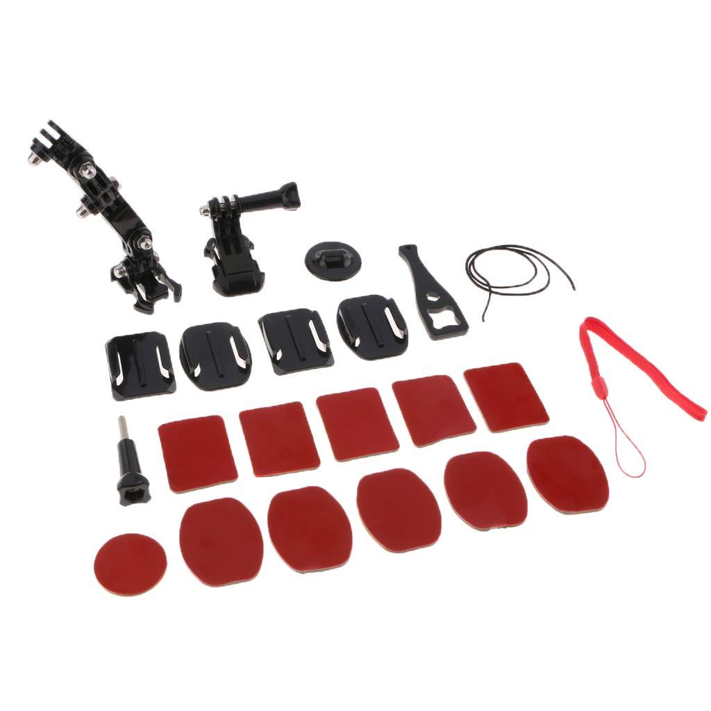 non-brand - Kit de Soporte para Casco para cámara GoPro 23 ...