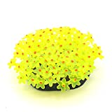 Product review for Gold Wing Aquarium Fish Tank Silicone Sea Anemone Ornament Decor Yellow