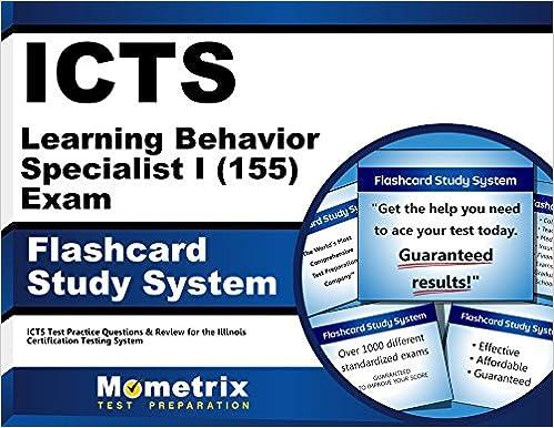 ICTS Learning Behavior Specialist I (155) Exam Flashcard Study ...