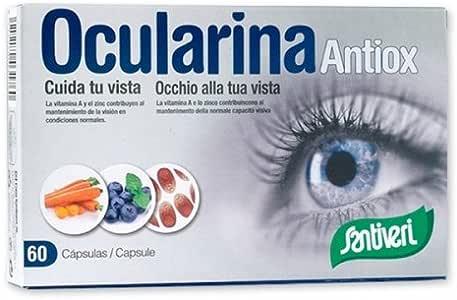 Ocularina Antiox Cap Santiveri 60 Capsulas: Amazon.es