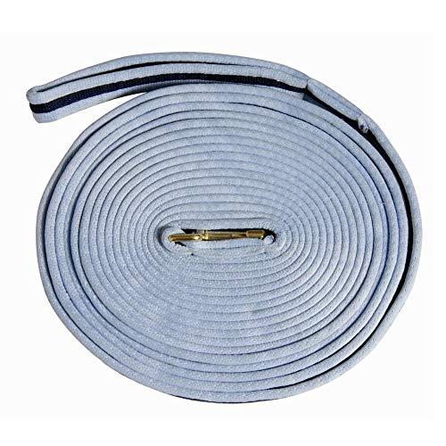 (Weatherbeeta, Kincade Two Tone Lunge Line with Circle Markers Black/Grey 36' )